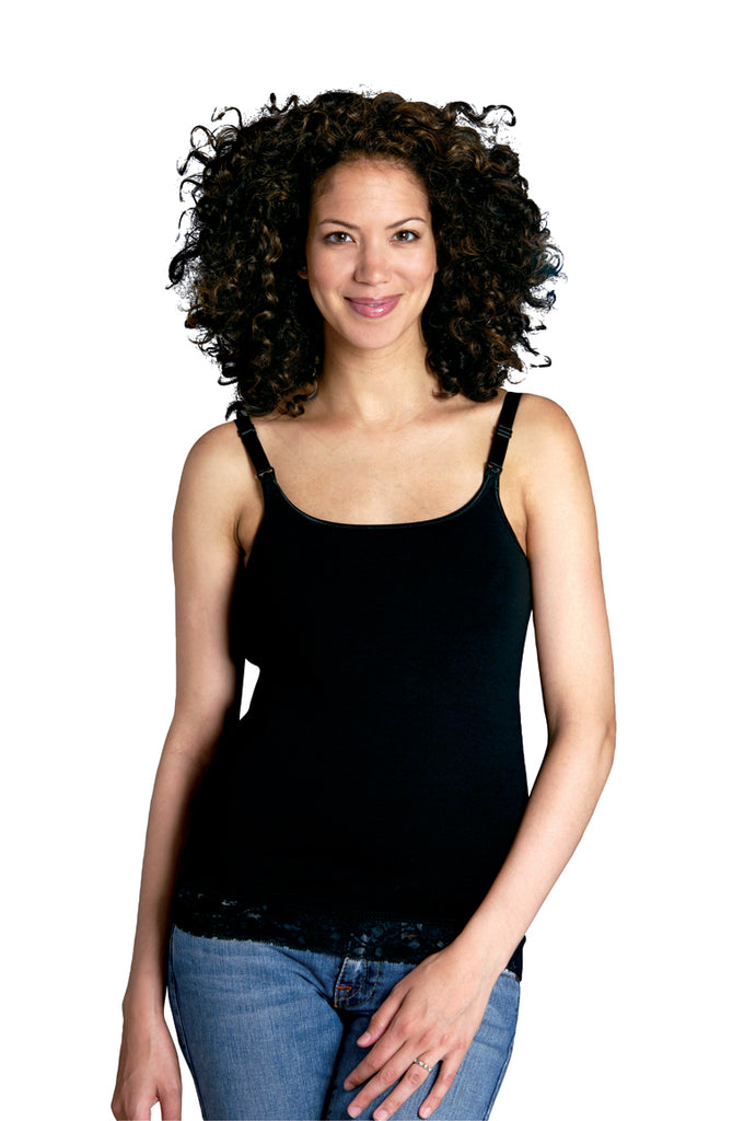 Glamourmom® Nursing Bra Top w/Lace