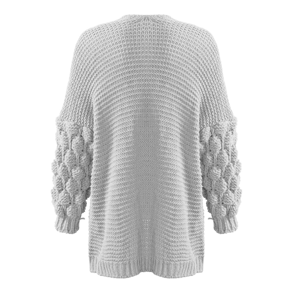 KENDALL BUBBLE SLEEVE CARDIGAN - Celeb Threads