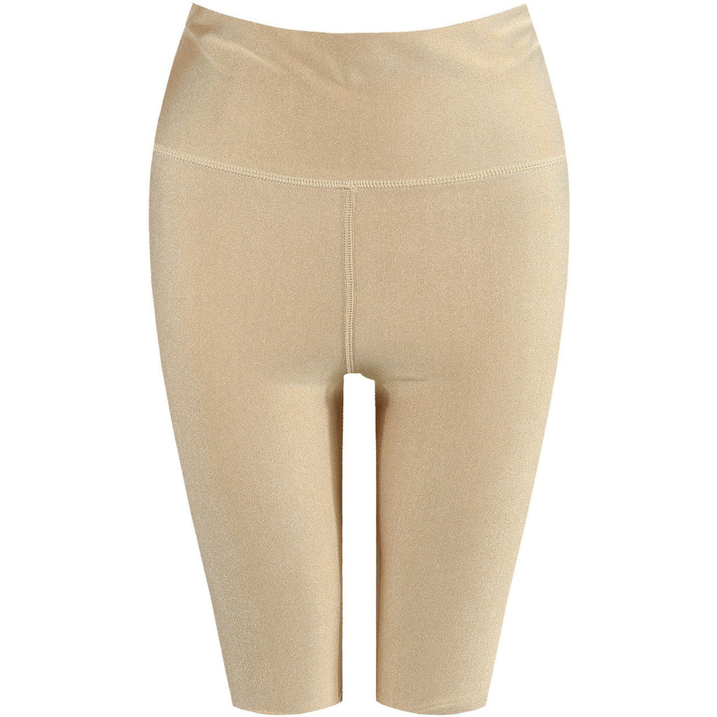 MOLLY NUDE SLINKY CYCLE SHORTS - Celeb Threads