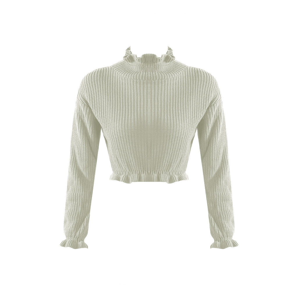 THEA HIGH NECK KNIT - Celeb Threads