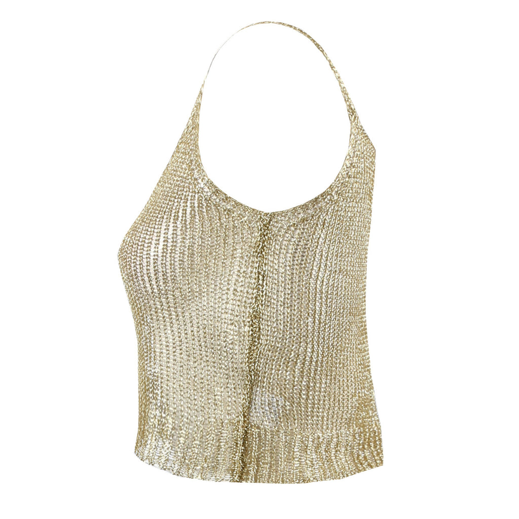 TESSA KNITTED TOP - Celeb Threads