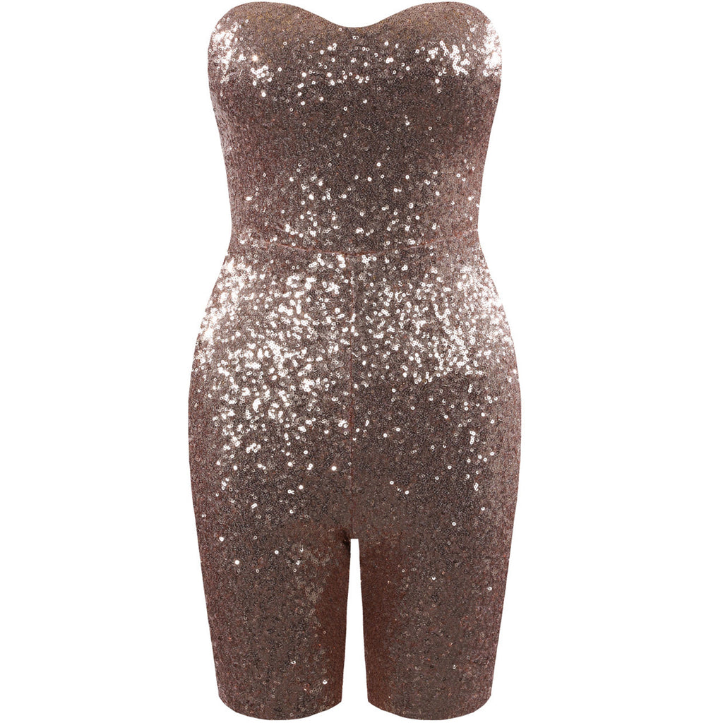 KYLIE SEQUIN UNITARD - Celeb Threads