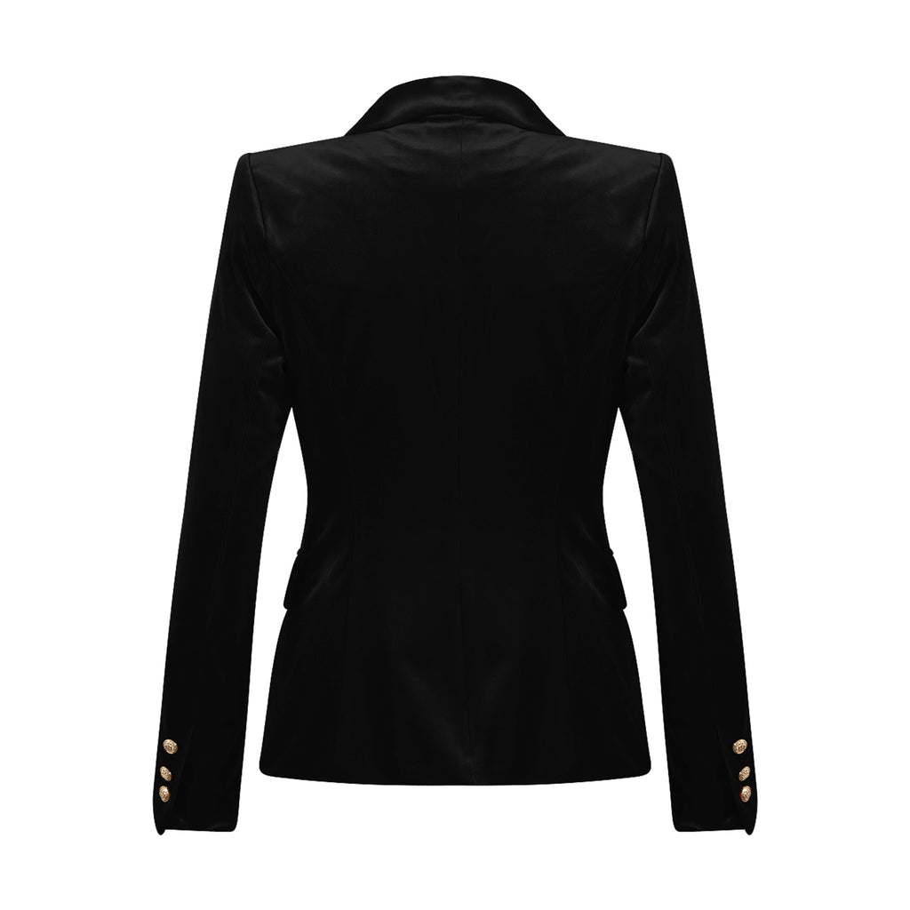 SAINT VELVET BLAZER - Celeb Threads