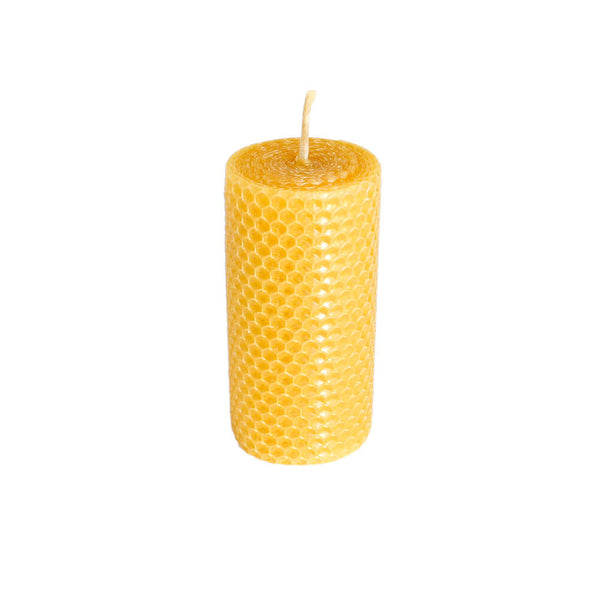 Kissed by a bee - Finnish Beeswax Candle - Pillar