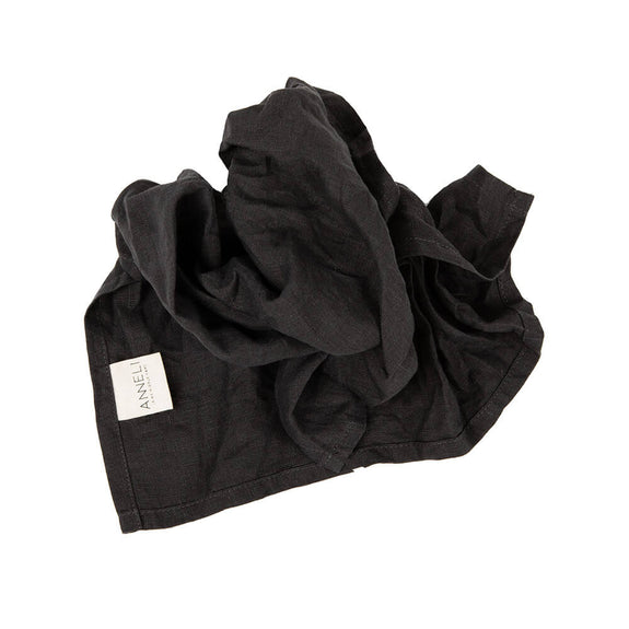 Anneli Linen Napkin - Charcoal grey - Pack of 2