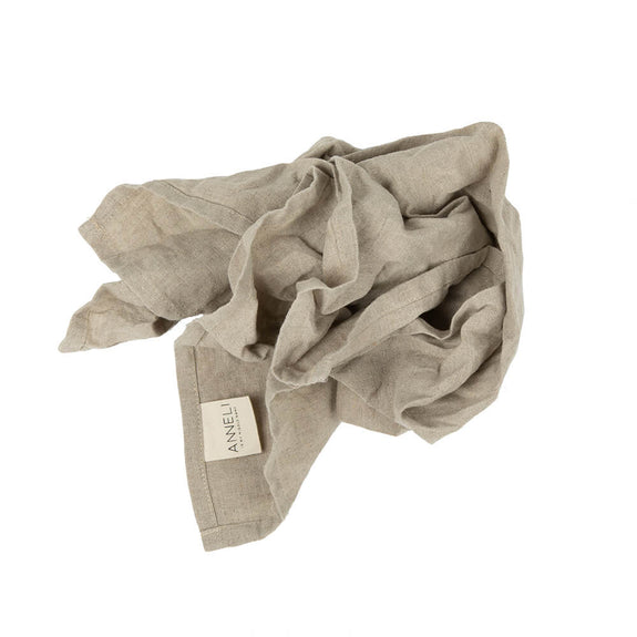 Anneli Linen Napkin - Natural linen - Pack of 2