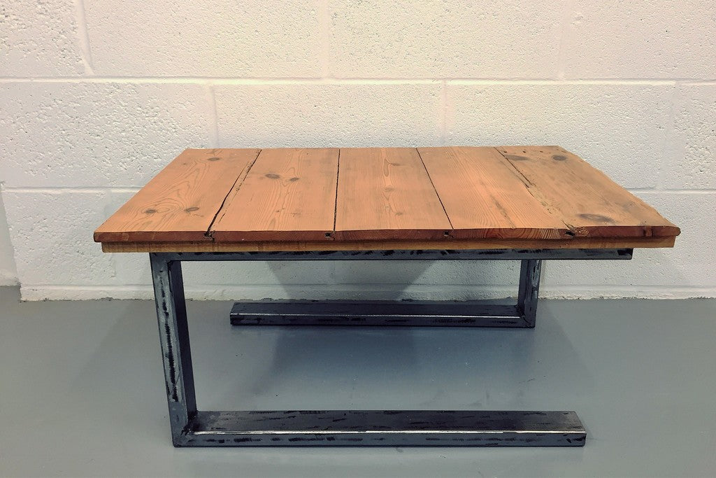 Table basse style indu