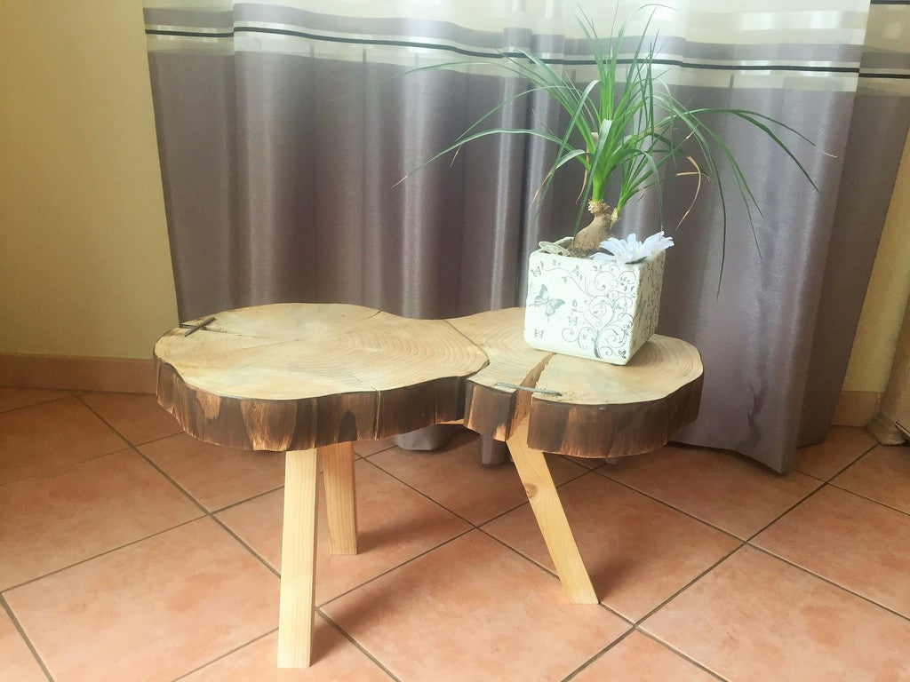 bout de canapé petit tabouret original unique france