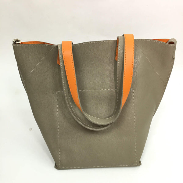 Taupe Orange