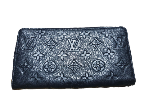 Louis Vuitton Black Empreinte Wallet