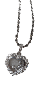 Happy Diamond Heart Pendant