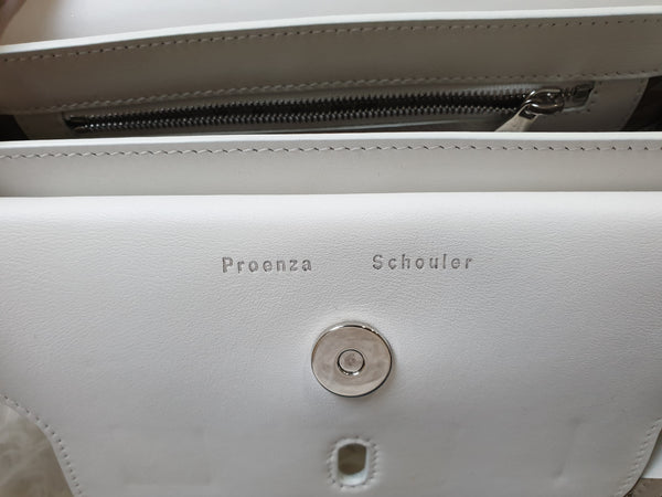 PROENZA SCHOULER | White Leather Crossbody Bag