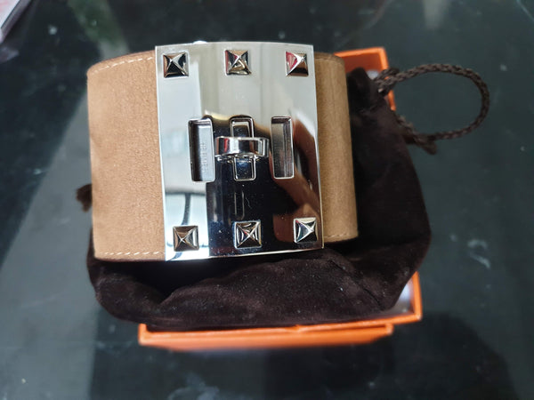 Hermes Kelly Brown Bracelet