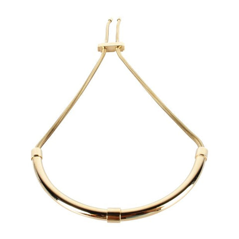 Lanvin Adjustable Necklace Gold