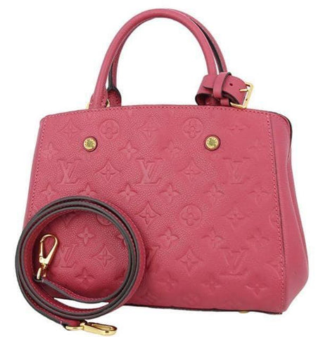 Louis Vuitton Montaigne BB in Ruby