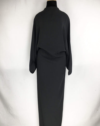 CHALAYAN | Black Large Dress