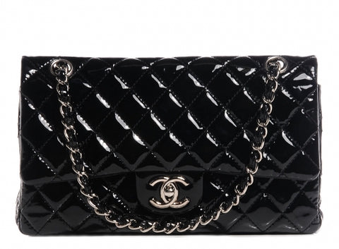CHANEL | Patent Seasonal Double Flap Bag
