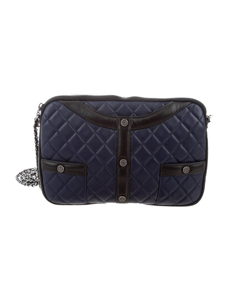 CHANEL | Quilted Girl Clutch