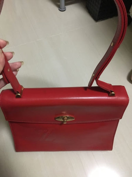 LOUIS VUITTON |  Vintage Opera Sparate Red