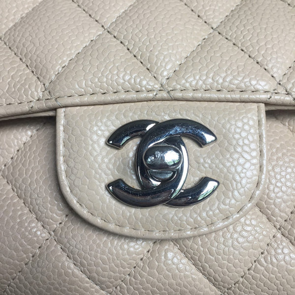 CHANEL | Classic Medium Caviar Silver Hardware