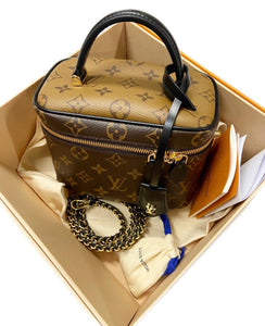 Louis Vuitton Vanity Monogram Reverse PM Brown