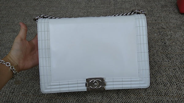 CHANEL | Boy Large Silver Hardware