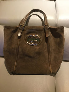 GUCCI | Suede Leather Tote