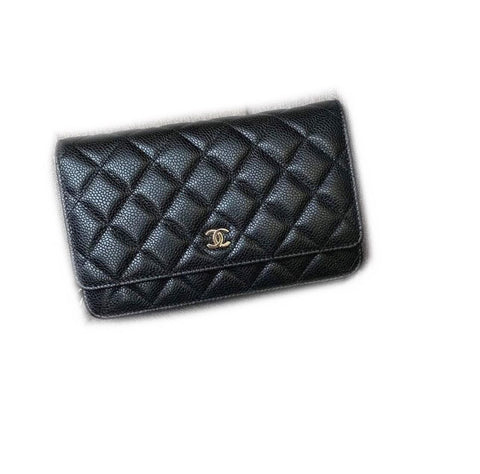Chanel Woc Black Caviar Ghw