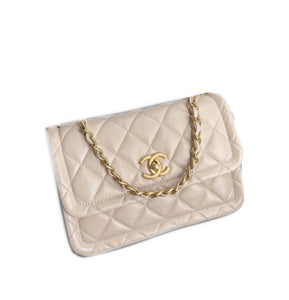 Chanel Crossbody Lambskin Shw