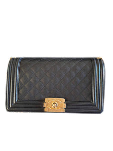 Chanel Boy Medium Black Caviar