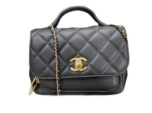 Chanel Light Black Caviar - Small Affinity