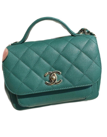 Chanel Business Afinity Small Green