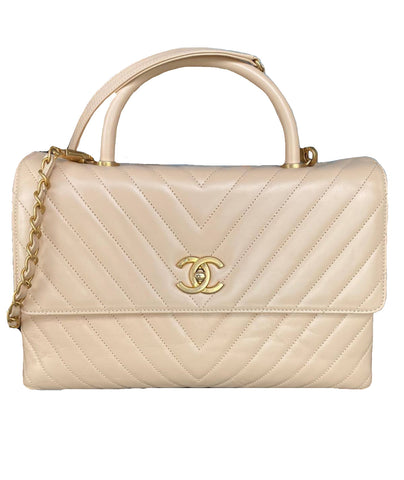 Chanel | Coco Handle Beige