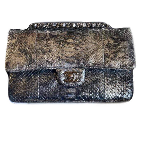 Chanel Classic Medium Silver Hardware