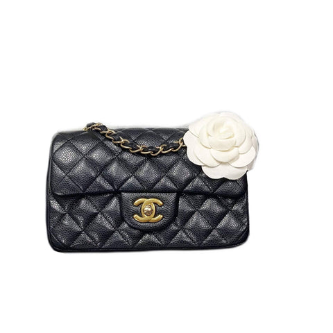 Chanel Mini Rect  Caviar