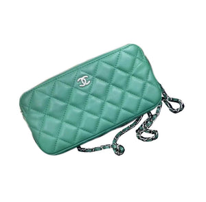 Chanel Woc Zippy Green