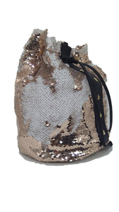 DA'POZA | Leather Sequins Bag