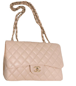 Chanel Jumbo Single Flap Lambskin