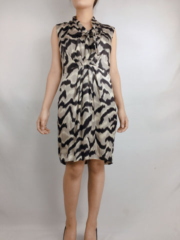 MAX MARA | Printed Silk Dress