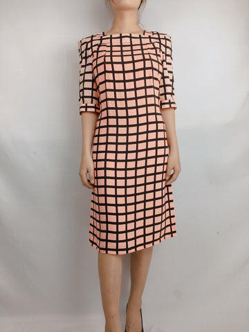 MARNI | Winter Edition 2012 - Pink Checkered Dress