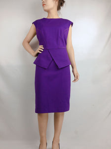 TED BAKER | UK3 Purple Tank Dress