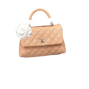 Chanel Coco 9.5 Light Pink Caviar Ghw