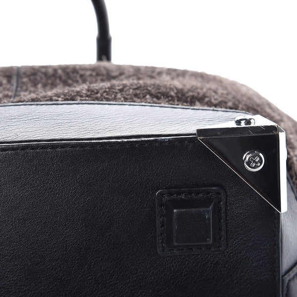 ALEXANDER WANG | Trimmed Fleece Suede Bag