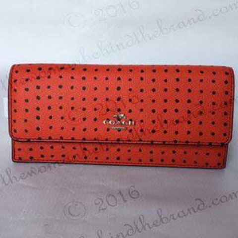 COACH | Red Wallet