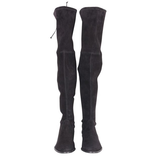 STUART WEITZMAN | White Over The Knees Boots