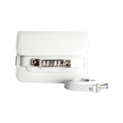 Proenza Schouler White Leather Crossbody Bag