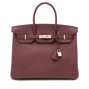 HERMÈS | Birkin 30 Havanne Evergain Leather Bag