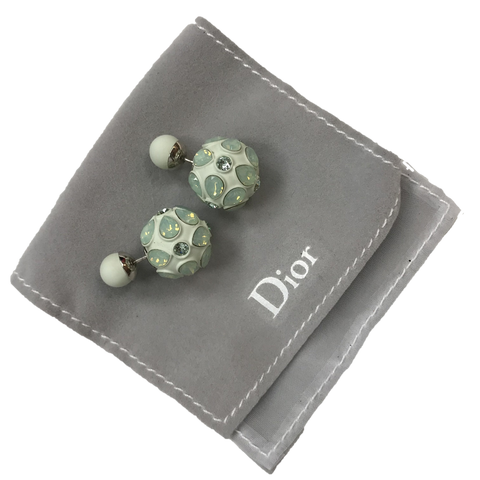 Dior Earrings Mint