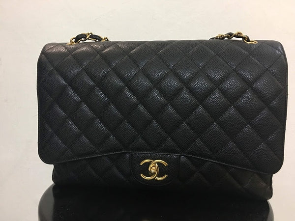 CHANEL | Maxi Caviar Double Flap