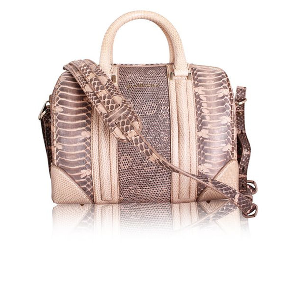 GIVENCHY | Mini Lucrezia Python & Lizard Bag with detachable Strap